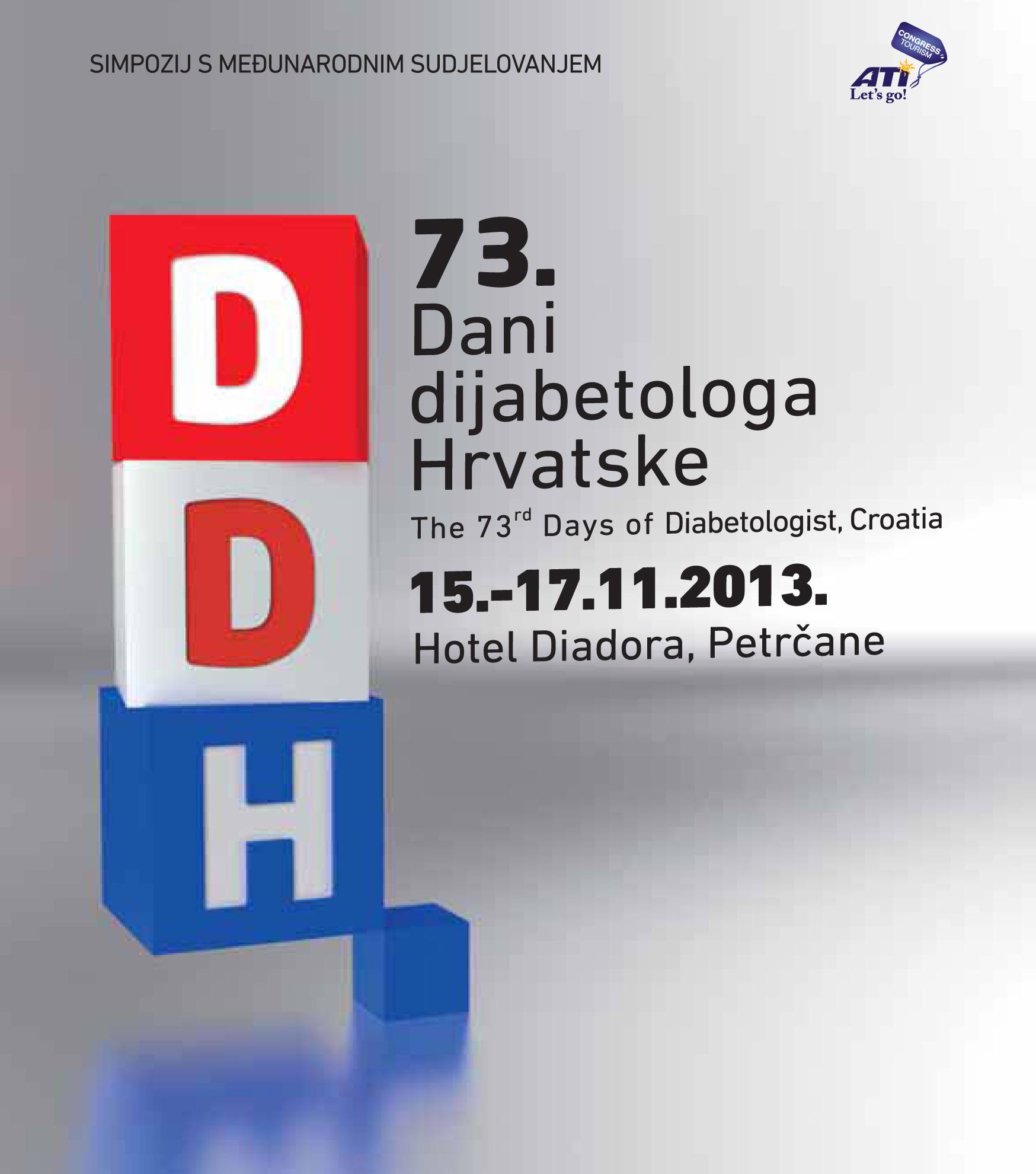 73. Dani dijabetologa Hrvatske
