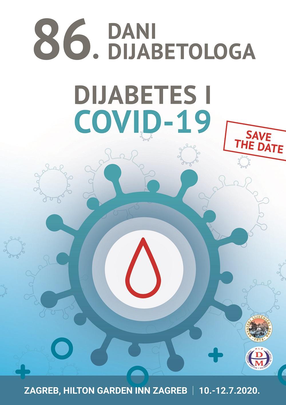 86. Dani dijabetologa Zagreb, 10.-12.07.2020.