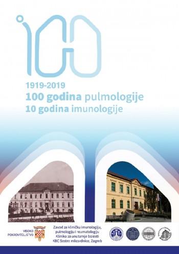 100 godina pulmologije i 10 godina imunologije, Zagreb 14.-15.11.2019.