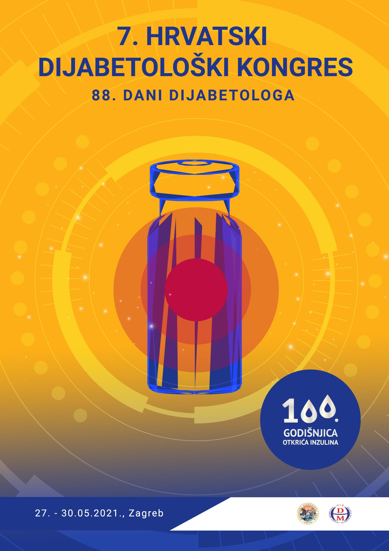 7. Hrvatski dijabetološki kongres i 88. Dani dijabetologa, Zagreb 27.-30.5.2021.