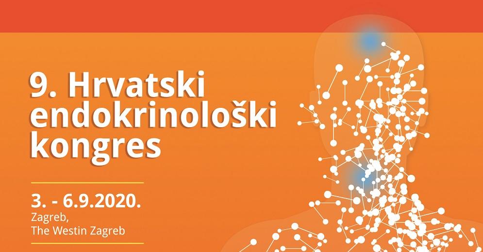 9. Hrvatski endokrinološki kongres, Zagreb 3.-6.9.2020.
