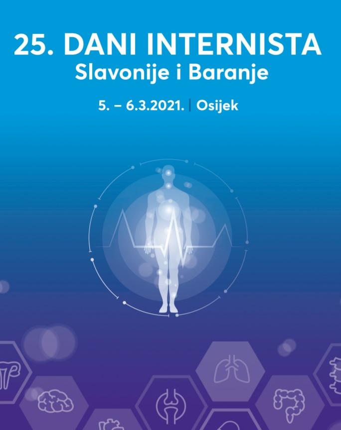 25. Dani internista Slavonije i Baranje, 5.-6.3.2021.